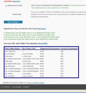 WordPress Website File & Folder Permissions